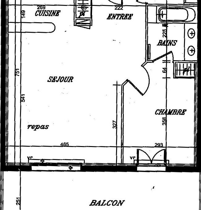 plan appartement 7 clochers